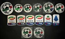 "TOPPE ufficiali/replica  ""LEGA SERIE A"" 1996-2020 official/replica patches"