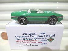 Matchbox 2008 47th Annual Sycamore IL Pumpkin Festival 1997 Corvette New in Box