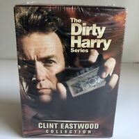 New The Dirty Harry Series (DVD, 2001, 5-Disc Set The Clint Eastwood Collection