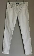 Gorgeous DOTTI DENIM Black & White Stripe Skinny Leg Jeans Size 9
