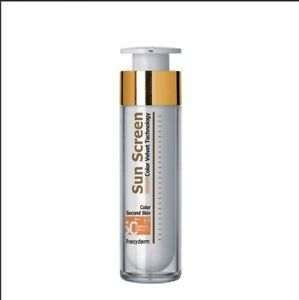FREZYDERM COLOR VELVET Sun Screen SPF50!! Only a few times used, ALMOST FULL!!