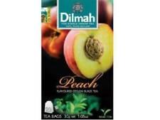 Ceylon Tea peach Flavored Ceylon Black Tea   Dilmah   20 TEA BAGS
