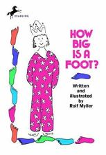 How Big Is a Foot? by Rolf Myller, Good Book