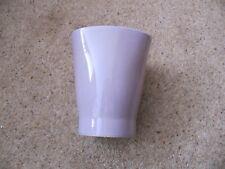 Ceramic Vase / Plant Pot Holder - Lilac - Modern Design - Very Good Condition