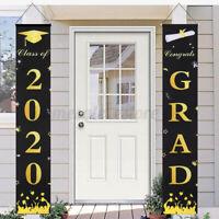 2020 Graduation Porch Sign Graduation Couplet Banner Door Hanging Decor Party