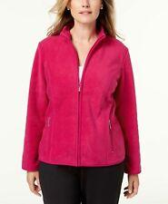 (NWT) Karen Scott Women's Cranberry Rose Zero Proof Jacket Plus Sizes 0X/1X