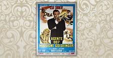 Original Movie Posters James Bond 007 Goldfinger - 100 x 140 CM - Sean Connery