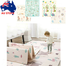 Foldable XPE Baby Kids Play Mat Crawling Picnic Alphabet Floor Rug 200*180*1.5cm