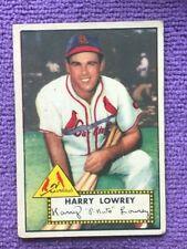 1952 Topps Set Break #111 - St. Louis Cardinals Peanuts Lowrey