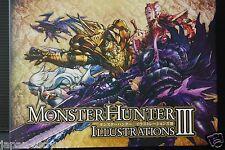 JAPAN Monster Hunter Illustrations 3 (MH4&4G) Art book