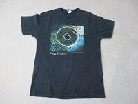 Pink Floyd Concert Shirt Adult Large Black Green Rock Band Music Tour Mens *