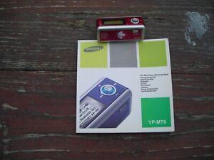 Samsung YP-MT6 MP3 Media Player 512MB