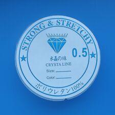 1 ROTOLO 0.5mm Qualità Elastico Stretch Crystal Thread