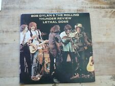 Bob Dylan & The Rolling Thunder Review - Lethal Dose 2LP, Bootleg NM 1979