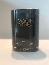 Magie Noir by Lancome 1/4 oz 7.5ml Pure Parfum Rare Vintage Formula Sealed Box