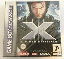 X Men GBA Game Boy Advance NUOVO