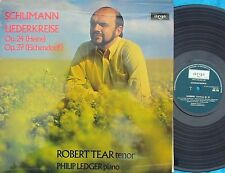 ZRG 718 Argo ORIG UK LP Schuman Liederkreise Robert Tear Philip Ledger NM '73