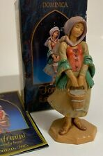 Fontanini Heirloom Nativity Figure Dominica Special Event Signed Marco Fontanini