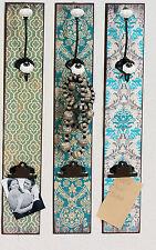Hoff Interieur Wandhaken Laguna 3er Set 60 x 10 x 0,9 cm MDF Klemmbrett Fotos