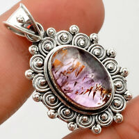 Cacoxenite Super Seven 7 Mineral 925 Sterling Silver Pendant Jewelry AP59402