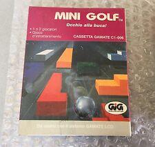 Vintage # Gamate Bit Corporation LCD GAME#MINI GOLF  #NIB