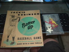 1951 Jackie Robinson Batter Up Baseball Game Arrow Toy & Novelty Complete