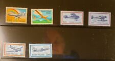 Finland Aircraft & Aviation Stamps Lot of 7 - MNH - See Details for List