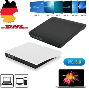 USB 3.0 Extern CD RW DVD Brenner Laufwerk Writer CD/DVD-ROM/DVD±RW Für PC Laptop