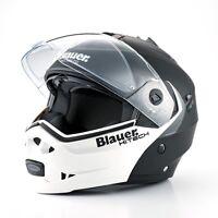 CASCO BLAUER SKY MODULARE APRIBILE MOTO  HELMET CAPACETE CASQUE BLAUER SKY