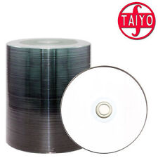 100x Taiyo Yuden CD Rohlinge CD-R 700 MB full printable bedruckbar 48x speed