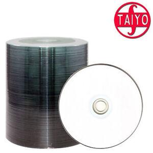 100x Taiyo Yuden CD Rohlinge CD-R 700 MB full printable bedruckbar 48x speed