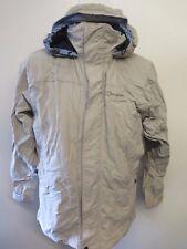 Genuine Berghaus Hooded AQUAFOIL Walking Jacket Coat UK 14 Euro 42 - Beige
