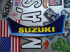 VINTAGE SUZUKI MOTOCROSS 5 SNAP DUCKBILL HELMET VISOR DECAL NEW!!