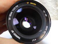TAMRON SP 28-80mm 3.5-4.2 CF MC Macro Zoom lens