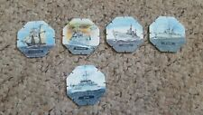 Marino's tazos pogs partial set of 5 of the 6 set ultra rare