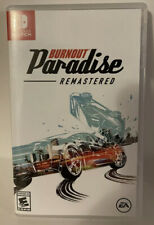 New listing Burnout Paradise Remastered Nintendo Switch Original Case and Cartridge Tested