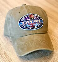 SURVIVOR Logo Cap Hat Embroider Patch Style WINNERS AT WAR CBS TV Season 40
