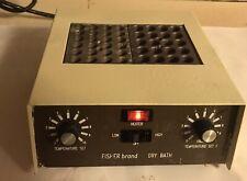 Boekel Fisher Brand 110022 Dual Block Dry Bath Incubator