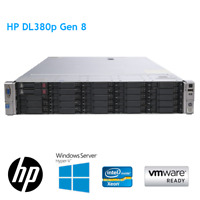 HP DL380p Gen8 2 x E5-2650 V2 8 Core 2.60GHz 32GB RAM P420 2GB 25 BAY