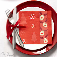 ROCKING RUDOLPH Luxury Christmas Paper Napkins -Xmas Party- FULL RANGE IN SHOP!