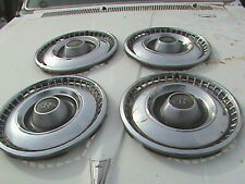 "60's 70's Buick Riviera Set Of Four 15"" Hubcaps"