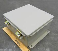 Wiegmann B080804CHWW Electrical Enclosure 8x8x4 Control Box Panel Cabinet