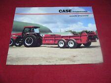 Case International Manure Spreaders Dealer's Brochure AD-60262C
