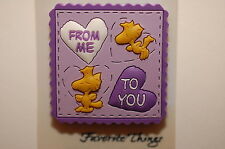 WOODSTOCK FROM ME TO YOU VALENTINE LOVE HEART # 99 PEANUTS CHARLIE BROWN SNOOPY
