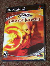 AVATAR THE LAST AIRBENDER: INTO THE INFERNO PS2 NEW
