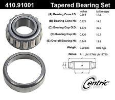 Centric Parts 410.91001 Wheel Bearing Set