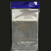 200 Self Resealable Clear OPP Plastic Bag for Standard 14mm DVD Case XBox Game