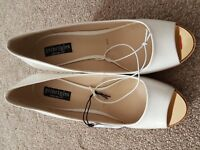 New With Tag  Principles  By Ben De Lisi  Women  Belle Wedge Syn Crt Shoes Size