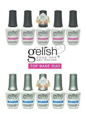 GELISH Harmony Soak Off Gel Polish Top and Base Duo Total 5 PAIRS Best Deal