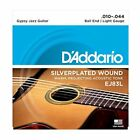 D'Addario EJ83L Gypsy Jazz Acoustic Guitar Strings, Ball End, Light 10 - 44 for sale